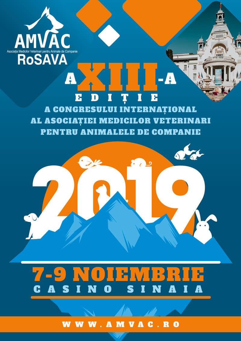 Congres: AMVAC - ediția XIII poster